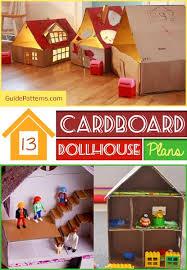 13 cardboard dollhouse plans guide