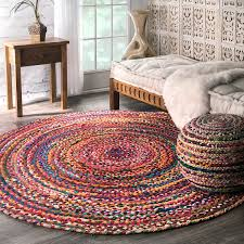 fascinating 6 ft round rug area rugs in grey and