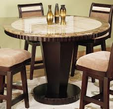 Picture Of Armen Living Corallo Counter Height Round Dining Table