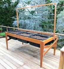 building a garden box raised bed standing garden box building a garden box raised bed raised planter boxes garden plans free standing beds