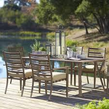 osh outdoor furniture covers. Point Reyes Collection 7-Piece Dining Set   Furniture Patio Outdoor Osh Covers