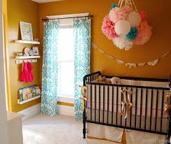 baby girl nursery everything diyed for under 400 sawdust and embryos