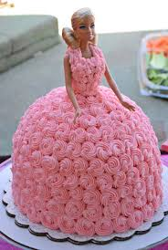 19928435 Barbie Doll Princess Cake All Buttercream Cakes And