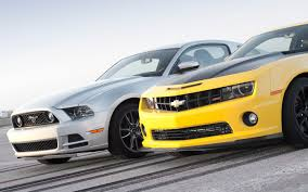 2013 Chevrolet Camaro SS 1LE vs. 2013 Ford Mustang GT Track Pack ...