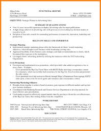 Resume Qualifications Summary 100 qualifications summary letter of apeal 59