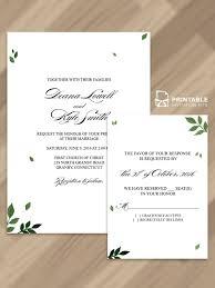 Printable Wedding Invitation Free Printable Wedding Invitations Popsugar Smart Living