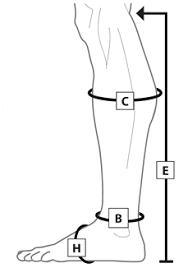 Juxta Lite Standard Legging With Compression Anklet