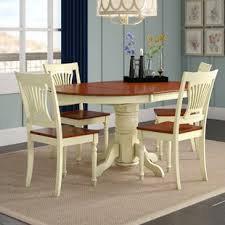 Image White Norris Piece Dining Set Wayfair Elegant Dining Room Sets Wayfair