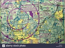 Sectional Aeronautical Chart Portion Of Us Sectional Aeronautical Chart Showing Dayton