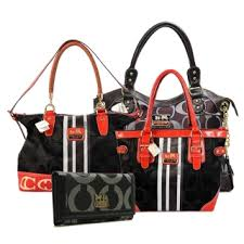 Coach Legacy Pinnacle Lowell In Signature Large Coffee Satchels ADV+Black  Totes BEW+Black