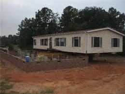 Modular Home Foundation house moves