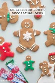 Gingerbread Cookie Designs Gingerbread Cookie Decorating Ideas The Polka Dot Chair
