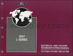 ford l series foldout wiring diagram l l lt related items