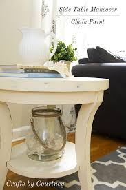 easy side table makeover fun with