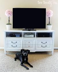 white dresser tv stand. Plain White How To Turn A Dresser Into TV Stand DIY And White Tv