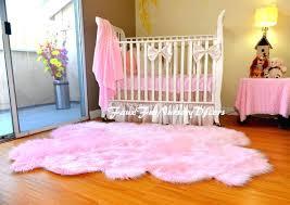faux olive sheepskin rug by a pink fur colorful area rugs