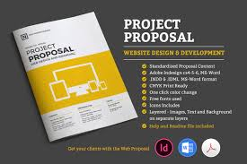 Free Project Proposal Template Sonos Proposal Pitch Pack Brochure Templates Creative Market 10