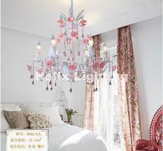 white european chandelier lamp re light 6l 8l 12l 18l pink rose flower chandelier light fixture e14 decoration foyer chandeliers art deco chandelier