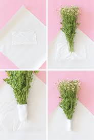How To Wrap Flower Bouquet In Paper How To Wrap A Bouquet Of Flowers With Wrapping Paper