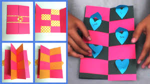 diy envelope magic gift