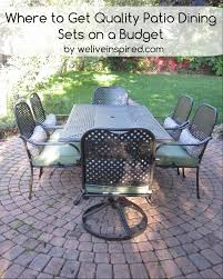 lawn furniture home depot. Home Depot Quality Patio Dining Sets For Lower Costs Lawn Furniture F