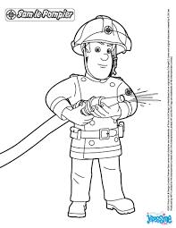 Coloriages Sam Le Pompier Fr Hellokids Com Dessin De Pompier A Imprimer L