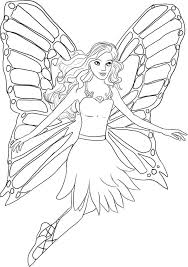 Good Barbie Coloring Pages Free 83 For Free Coloring Book with ...