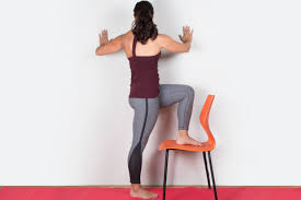 inflexible people. yoga wall twist inflexible people n