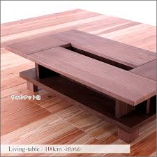 center table coffee table 100 cm japanese modern style walnut oak wood legs with natural wood living table floor parlor parlour cafe fashionable living