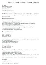 truck driving resumes 9 10 truck driving resume samples archiefsuriname com