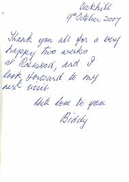 Thank You Notes For Nurses Testimonials Pinewood Residential Care Home