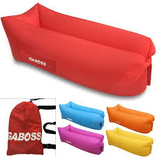 inflatable pool furniture. inflatable lounger outdoor sofa furniture hangout airsofa red pool