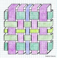 Cool Pattern Designs Graph Paper
