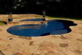 photos of fiberglass spa pool