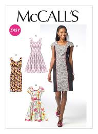 M40 Misses' PrincessSeam Dresses Sewing Pattern McCall's Patterns Best Mccalls Patterns