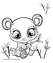 Precious Coloring Pages Of Cute Animals Baby Animal Printable Big