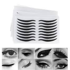 Eye Makeup Sticker Designs Details About 48pcstemporary Eyeliner Eyeshadow Sticker Tattoo Eye Makeup Cosmetic