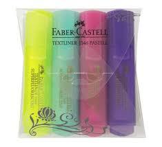 """Цена на Набор <b>текстовыделителей Faber</b>-<b>castell</b> """"1546"""" 4 цв в ..."""