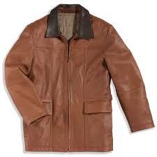 the men s deerskin jacket hammacher schlemmer