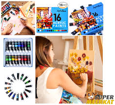 acrylic paint set nail art canvas painting supplies for kids
