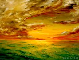 impressionistic style painting