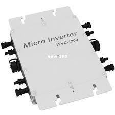 <b>1200W Grid Tie Micro</b> Inverter 22 50VDC 110V Or 220V AC Solar ...