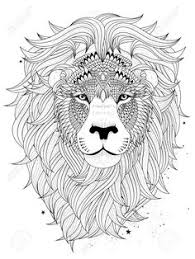 Small Picture lion coloring page for adults Google Search For Me Pinterest
