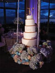 beautiful wedding cake on a swing by sweet cakes by mel