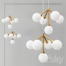 tech lighting mara chandelier mini