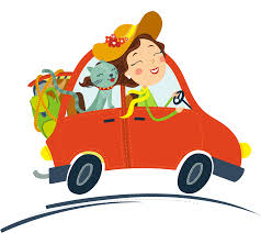 car driving clipart.  Car Cat Car Female  Cartoon Red Car Driving Cartoon Creative 29672641  To Driving Clipart V
