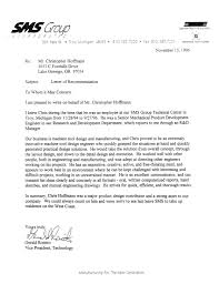 Letter Of Recommendation Mechanical Engineering Letter Of Recommendation For Ms In Mechanical Engineering Rome