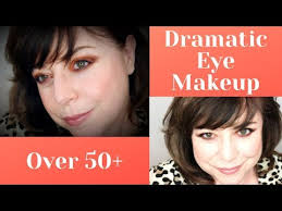 how to apply a dramatic eye makeup look when you re over 50