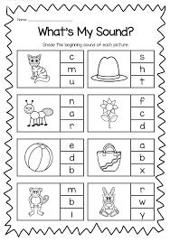 beginning sounds worksheets best 25 beginning sounds worksheets ...