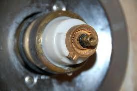 image of old delta shower faucet valve installation depth adjule